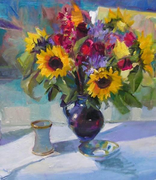 Last of the Summer Sunflowers