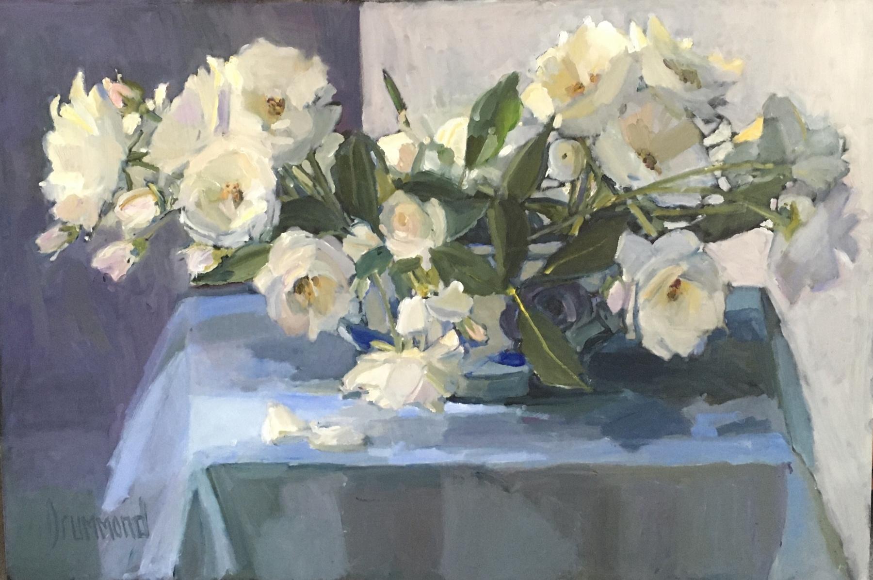 White Roses from my Garden