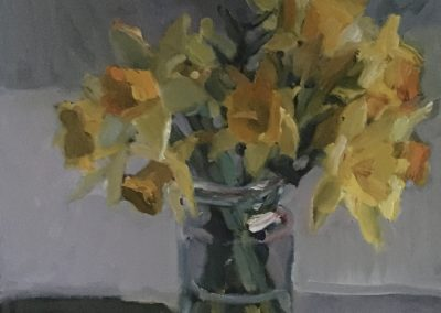 A Jar of Daffodils - Marion Drummond