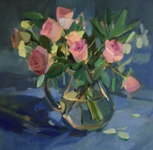 Pink Roses - Marion Drummond